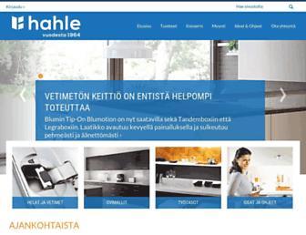 Thumbshot of Hahle.fi