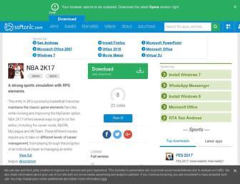 nba-2k17.en.softonic.com screenshot