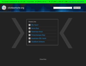 Thumbshot of Clickbanksite.org