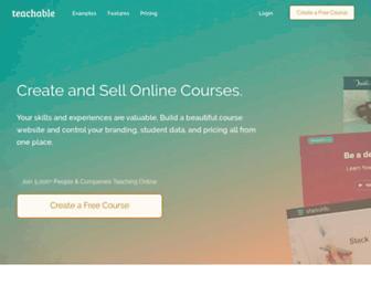 teachable.com screenshot