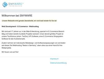 snyware.com screenshot