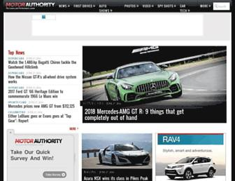motorauthority.com screenshot