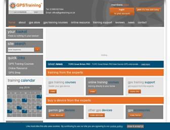 gpstraining.co.uk screenshot