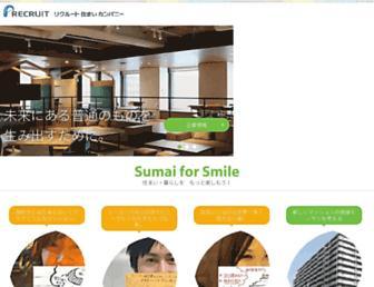 Thumbshot of Recruit-sumai.co.jp