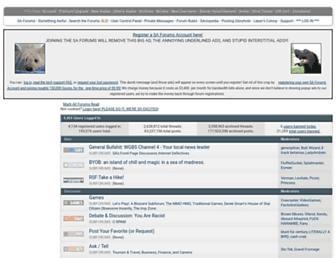 forums.somethingawful.com screenshot