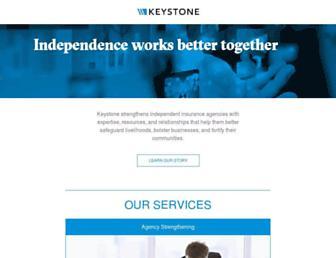 keystoneinsgrp.com screenshot