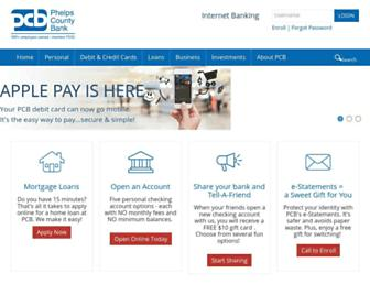 Thumbshot of Phelpscountybank.com