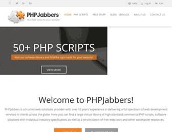 phpjabbers.com screenshot