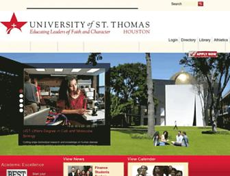 Thumbshot of Stthom.edu