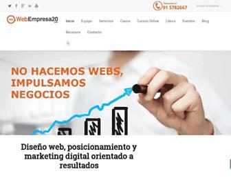 webempresa20.com screenshot