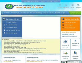 vlhaugiang.vieclamvietnam.gov.vn screenshot