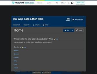 swse.wikia.com screenshot