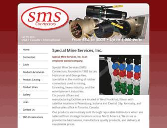 smsconnectors.com screenshot