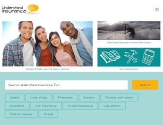 understandinsurance.com.au screenshot