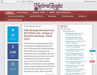 nairalogic.com screenshot