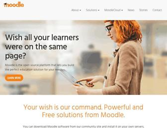 Thumbshot of Moodle.com