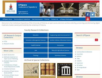 repository.up.ac.za screenshot