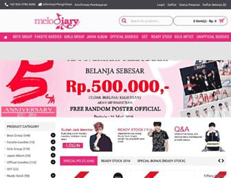 melodiary.com screenshot