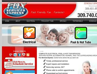 foxservicesexpress.com screenshot