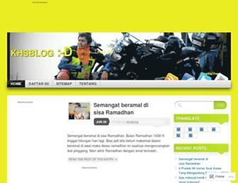 khsblog.net screenshot