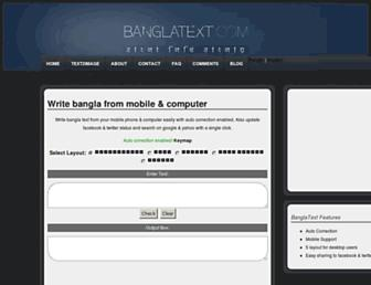 Thumbshot of Banglatext.com