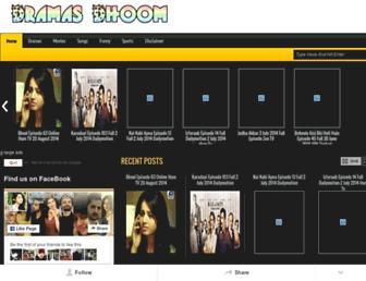 dramasdhoom.blogspot.com screenshot