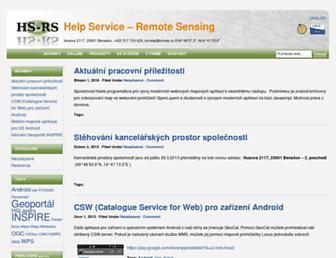 Main page screenshot of bnhelp.cz