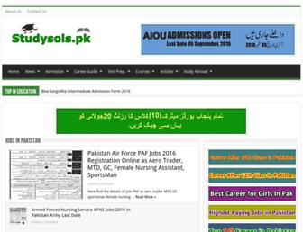 studysols.pk screenshot