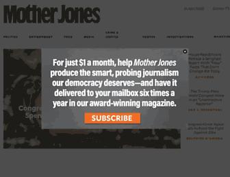 Thumbshot of Motherjones.com