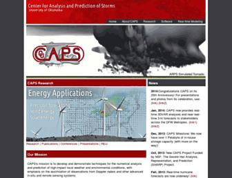 caps.ou.edu screenshot