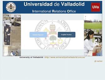 relint.uva.es screenshot