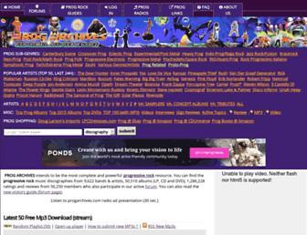 progarchives.com screenshot