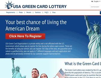 Thumbshot of Usagreencardlottery.org