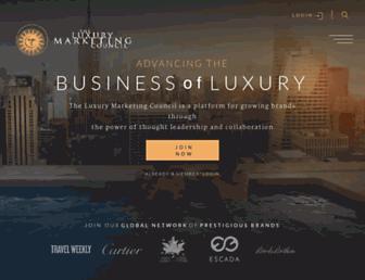 luxurycouncil.com screenshot