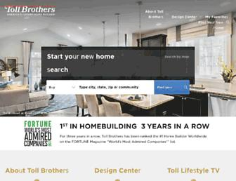 cdn.tollbrothers.com screenshot