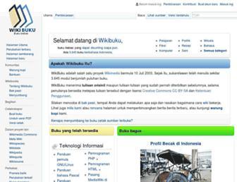 id.wikibooks.org screenshot