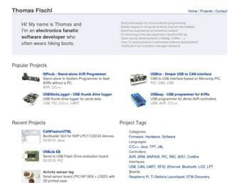 fischl.de screenshot