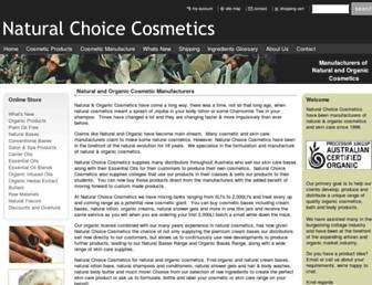 nccosmetics.com.au screenshot