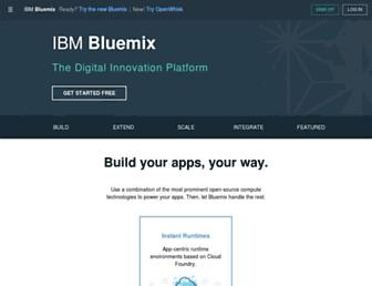 Thumbshot of Bluemix.net
