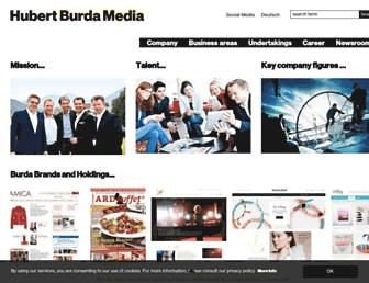 Thumbshot of Burda.com