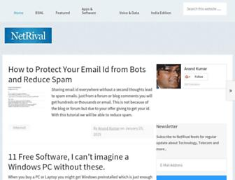 netrival.com screenshot