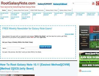 Thumbshot of Rootgalaxynote.com