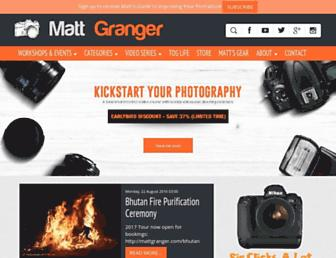 Thumbshot of Mattgranger.com