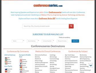 conferenceseries.com screenshot