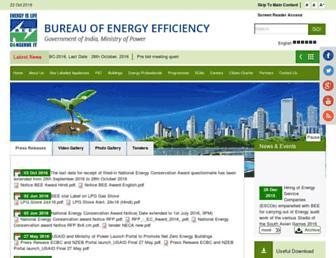 beeindia.gov.in screenshot