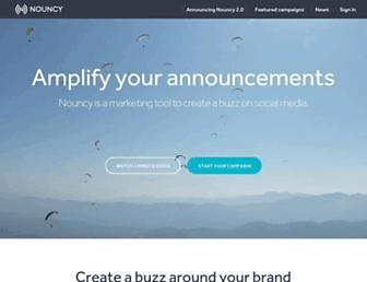 Thumbshot of Nouncy.com