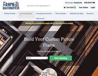 framedestination.com screenshot