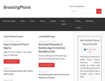 browsingphone.com screenshot