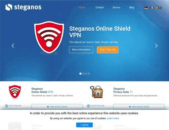 steganos.com screenshot