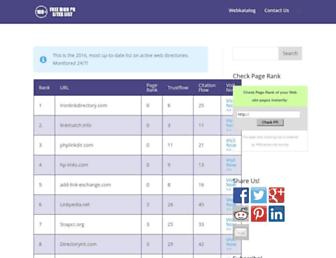 freedirectorysubmissionsites.com screenshot